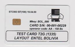BOLIVIA TEST - Altri – America