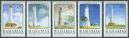 Bahamas 2005 Lighthouses Scott 1154-58 Michel 1228-32 - Lighthouses