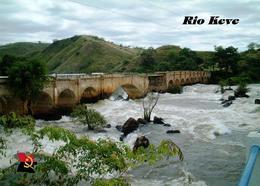 Angola Keve River Bridge New Postcard - Angola