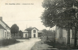 03 Fourilles Avenue De La Gare  Réf 1961 - Frankreich