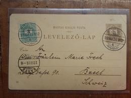 UNGHERIA 1899 - Cartolina Postale Incoronazione Re Francesco Giuseppe - Viaggiata + Spese Postali - Hungary