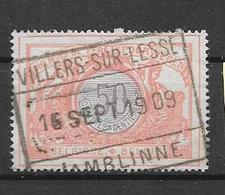 35 Villers-Sur-Lesse      Jamblinne - Bahnwesen