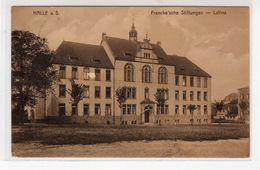 Halle - Frankesche Stiftungen, Latina, 1917 - Halle (Saale)