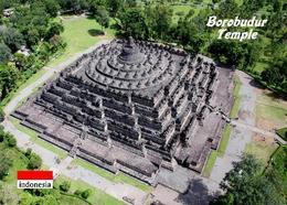 Indonesia Java Borobudur Temple Aerial View UNESCO  New Postcard Indonesien AK - Indonesia