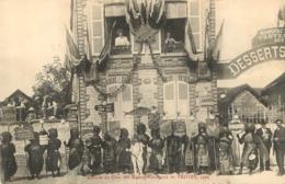 TROYES CAVALCADE 1909 ESCORTE DU CHAR DES MALOTS - Troyes