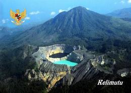 Indonesia Flores Kelimutu Volcano Lakes New Postcard Indonesien AK - Indonesia