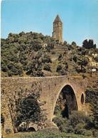 34 - Olargues - La Tour Clocher (XIIe Siècle) Et Le Pont Du Diable Sur Le Jaur - France