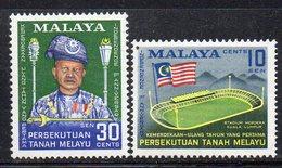 Y463 - MALAYA Federation 1958, Yvert N. 87/88 ***  MNH (2380A) Indipendenza - Federation Of Malaya