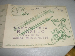 DEPLIANT PUBBLICITARIO IBEX CARTOLERIA CON FORMULARIO - Zonder Classificatie