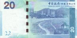 HONG KONG P. 341a 20 D 2010 UNC - Hongkong