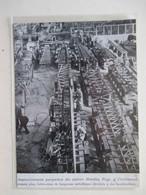CRICKLEWOOD (Londres)  Fabrication De Longerons Pour Avions Bombariers  Ets HANDLEY PAGE  - Coupure De Presse De 1938 - GPS/Aviación