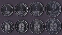 Sri Lanka 4 Coins Set 2017 - Sri Lanka