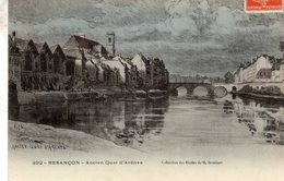 Besancon  -  Ancien Quai D'Arenes  -  CPA - Besancon