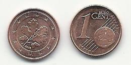 1 Cent, 2019,  Prägestätte (J),  Vz, Sehr Gut Erhaltene Umlaufmünzen - Deutschland