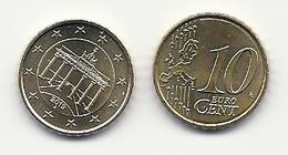 10 Cent, 2019,  Prägestätte (A),  Vz, Sehr Gut Erhaltene Umlaufmünzen - Deutschland