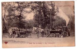 6737 - L'Auvergne Pittoreque - Sur La Route , Le Concasseur - N°17 - V.C.D. - - Auvergne