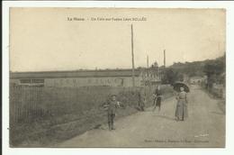 Cpa  LE MANS , Un Coin Sur L'usine Léon BOLLEE - Animée - 1917 - Le Mans