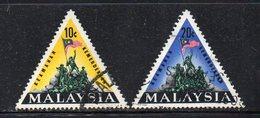 Y632 - MALAYSIA  1966,  Yvert N. 32A/B  Usato (2380A) - Malesia (1964-...)