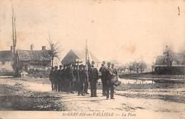 71 - St-Gervais-en-Vallière - La Place - Le Défilé De La Fanfare Animé - France