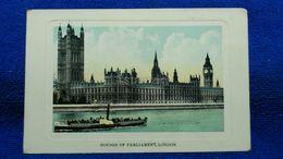 Houses Of Parliament London England - London