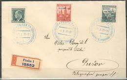 Tchécoslovaquie Lettre Récommandé - Czechoslovakia