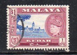 Y639 - KEDAH MALAYSIA  1959,  Yvert N. 109  Usato (2380A) - Kedah