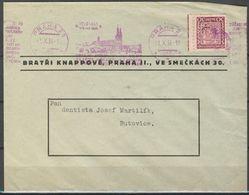 Tchécoslovaquie Lettre Simple, Pd - Czechoslovakia