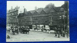 London Staple Inn Old Houses Holborn England - London