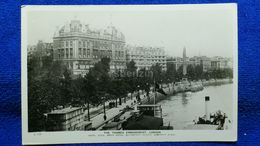 The Thames Embankment London England - London