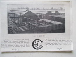 FEIGNIES    (59) Fabrication Matériels & Machines  Pour Mines  Ets FAC JEUMONT       Oupure De Presse De 1923 - Historical Documents