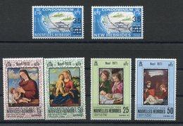 RC 15430 Nelles HEBRIDES N° 298 / 301 + 314 / 315 PETIT LOT COTE 6,80€ NEUF ** MNH TB - Neufs