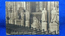 Statesmen's Corner Westminster Abbey London England - Westminster Abbey