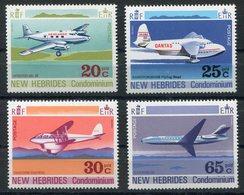 RC 15432 Nelles HEBRIDES N° 322 / 325 AVIONS COTE 10,00€ NEUF ** MNH TB - Neufs