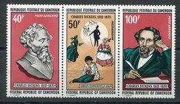 RC 15433 CAMEROUN N° 173A CHARLES DICKENS TRYPTIQUE NEUF ** MNH TB - Kamerun (1960-...)