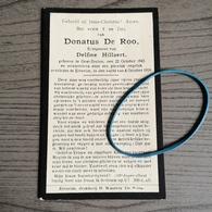 De Roo,Hillaert,Oost-Eecloo 1843,Ertvelde 1918. - Religion & Esotérisme