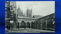 The Cloisters Westminster Abbey London England - Westminster Abbey