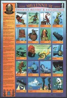 EC097 PALAU MILLENNIUM 2000 UNDERSEA HISTORY & EXPLORATION 1SH MNH - Autres