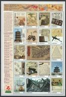 EC101 LIBERIA MILLENNIUM 1000-2000 SCIENCE & TECHNOLOGY OF ANCIENT CHINA 1SH MNH - Histoire