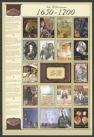 EC106 GRENADA MILLENNIUM 1650-1700 1SH MNH - Histoire