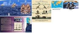 Russia 2020 Presemtation Pack 200 Anniv. Discovery Antarctica Mariners Explorers M. Lazarev, F. Bellingshausen. Penguins - Esploratori