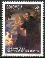 Colombie - 1987 - 1600 Ans Conversion De Saint Augustin - Neuf - Christianisme
