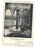 3350 - MONREALE PALERMO CHIOSTRO DETTAGLIO 1903 - Altre Città