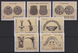 ARCH 6 - HONGRIE N° 2903/09 Neufs** Thème Archéologie - Hongrie