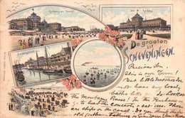 SCHEVENINGEN - POSTED IN JUNE 1898 ~ AN EARLY 1890's -1901 VINTAGE POSTCARD  #21344 - Scheveningen