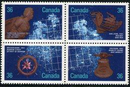CANADA 1987 EPAVES DE NAVIRES HISTORIQUES NEUF MNH** MINT LUXE ** - 1952-.... Reign Of Elizabeth II