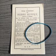 Supply,Tieghem 1858,Vijve-St.-Elooi 1895. - Religion & Esotérisme