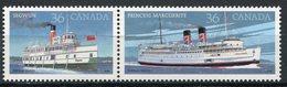 CANADA 1987 BATEAUX A VAPEURS NEUF MNH** MINT LUXE ** - 1952-.... Reign Of Elizabeth II