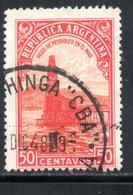 1935 YT 379 OBLITERE - 1858-1861 Confederazione