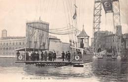 Marseille (13) - Le Transbordeur ( Gros Plan De La Nacelle Avec Personnage ) - Otros