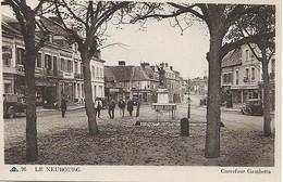 Carte Postal LE NEUBOURG CARREFOUR GAMBETTA - Le Neubourg